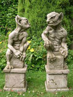 Gargoyles in the Garden
