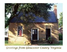 Historic Sites of Gloucester County, Virginia Gloucester Virginia, Historical Sites, Middle, Cabin, House Styles, Outdoor Decor, Image, Home, House