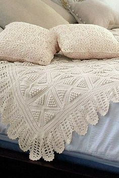 Mis Pasatiempos Amo el Crochet: Cubrecama