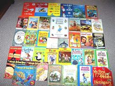 36 Sonlight HomeSchool Books~Core P 3/4 4/5 K~Core A & B~Read Alouds~Ages 3-9