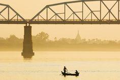 Río Ayeyarwady, Myanmar