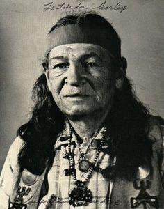 Nino Cochise 06 - (1874-1984) Chief Chiricahua Apache wurde 110 Jahre alt (reaches 110 Years of life):