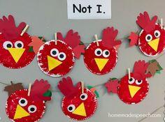 The Little Red Hen | http://homemadespeech.com/the-little-red-hen/