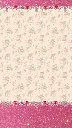 Pretty Floral Wallpaper.