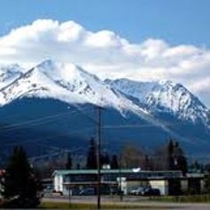 Hudson Bay Mountain - Smithers BC. Where the ski runs are!