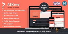 Ask Me v3.2  Responsive Questions & Answers WordPress