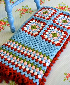 'Cathy Come Home' Crochet Blanket by Sue Morgan | Flickr - Photo Sharing!