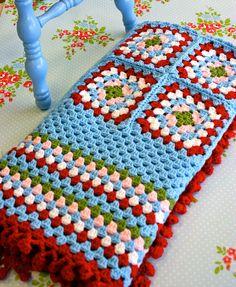 'Cathy Come Home' Crochet Blanket by Sue Morgan