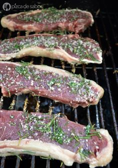 Grilling Recipes, Meat Recipes, Cooking Recipes, Mexican Chicken Recipes, Food Plus, Colombian Food, Beef Steak, I Love Food, No Cook Meals