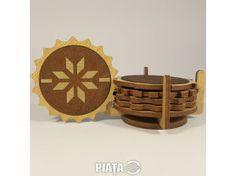 Mobilier, decoratiuni, Obiecte, plante deco, Suporti pahare, imaginea 1 din 2