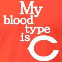 Yes! After living here 40 years my blood type is now C = Chicago!!!