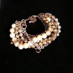 "Premier Designs Wow Factor bracelet 7.5"" Gorgeous bracelet that makes a statement! Six strands with 2"" extender. Antique look to some beads. premier designs Jewelry Bracelets"