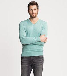 Pullover in der Farbe mintgrün bei C&A