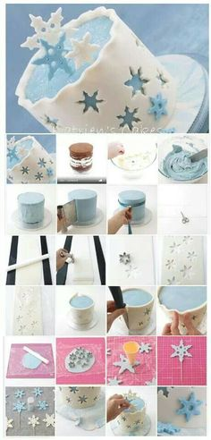 Winter cake idea
