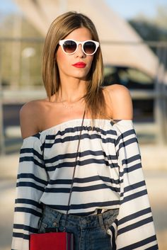 Saint Tropez, Fashion Outfits, Fashion Styles, Jean Outfits, Stylish Outfits,  Blouse, Casual Shorts, Casual Clothes, Trendy Collection