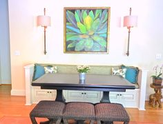 Gathering Around the Table | Great room makeover