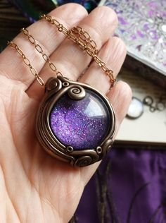 Luna Blue's Little Oracle Ornate Scrying by LunaBlueBoutique