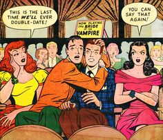 Patsy and Hedy will never double date these two guys again!