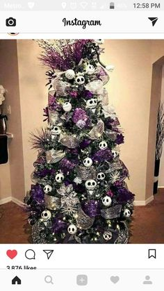 gorgeous chirstmas tree decorations ideas 2017 58 image is part of 60 gorgeous christmas tree design ideas in 2017 gallery you can read and see another