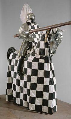 Rennzeug, 16th century jousting armour which belonged to Emperor Maximilian I, son of Friedrich III, von Habsburg