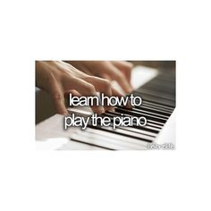 I've already done this.... But ya know... I wanna learn how to play Tacotta and Fugue in D minor completely :)