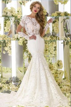 786cd8d887a0 2017 Vestidos De Noiva Sexy Sheer Long Sleeves Mermaid Wedding Dresses  Scoop Neck Open Back Lace Court Train Bridal Gowns -in Wedding Dresses from  Weddings ...