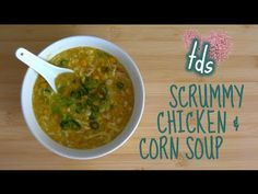 ▶ Seriously Easy Chicken and Corn Soup | THE DUMPLING SISTERS - YouTube