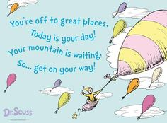 Dr. Seuss...a classic author for kids and adults alike!