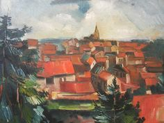 Maurice de Vlaminck 'The Red Roofs' | Flickr - Photo Sharing!