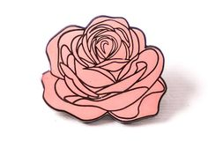Dedication Rose Pin - Pink
