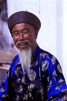 CHINA | An old chinese man smiling to the camera. Shanghai … | Flickr - Photo Sharing!