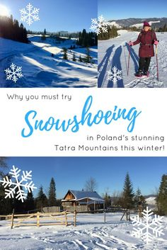 Experience the joys of snowshoeing for the first time in beautiful Szczawnica, Poland! | Poland travel |