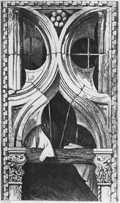 John Ruskin, The Seven Lamps of Architecture, 1855   Plate VIII, Window from the Ca' Foscari, Venice, p. 88
