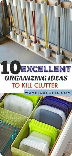 organizing ideas to kill clutter