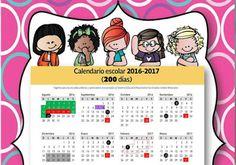 Agenda Escolar Docente 2016-2017 con Hermosos Diseños para Imprimir | AULA VIRTUAL PRIMARIA