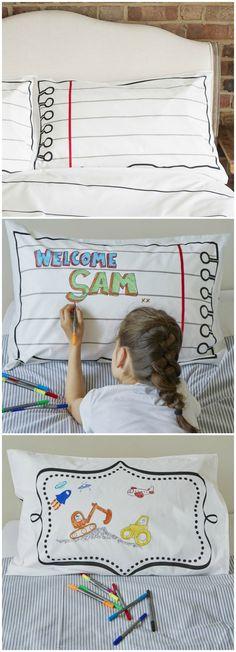 13 Amazing GS Pillowcases - Coloring images | Pillow case dresses ...
