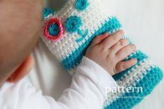 Crochet Pattern A Baby's First Teddy Bear Pattern by ZoomYummy