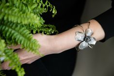 Silver 925, handcrafted, unique, Midee Concept Diamond Earrings, Organic, Concept, Bracelets, Unique, Floral, Silver, Jewelry, Instagram