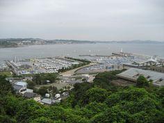 江の島アリーナを一望 2007.9