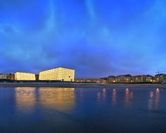 Kursaal Concert Hall and Convention Center in San Sebastian Architect: Rafeal Moneo Cultural Center, Concert Hall, Convention Centre, Architecture, Facade, Spain, Around The Worlds, City, Places