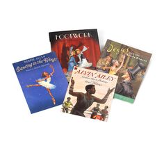 Dancing Shoes - This collection of four stellar books is perfect for capturing the interest of budding dancers and performers.