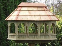 Large Bird Feeders For Sale | Wooden Lawn Furniture - Bird Feeders | Yutzy's Farm Market
