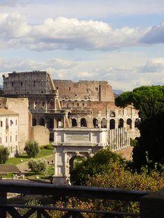 The Coliseum - Rome, Italy