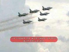 Poem written by John Gillespie Macgee High Flight, Poem, Verses, Poems, Poetry