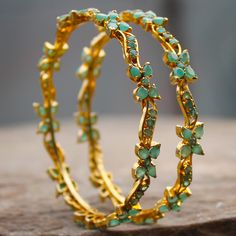 GABINA BANGLES  by Indiatrend. Shop Now at WWW.INDIATRENDSHOP.COM