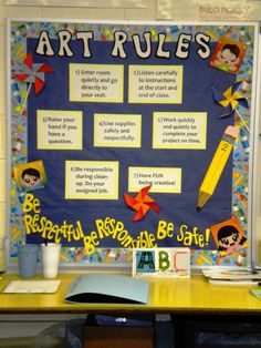 Art Rules. have to think about adding these instead of the simple five rules i have.