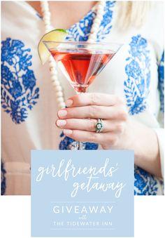 Win a Girlfriends' Getaway at The Tidewater Inn!   My Eastern Shore Wedding