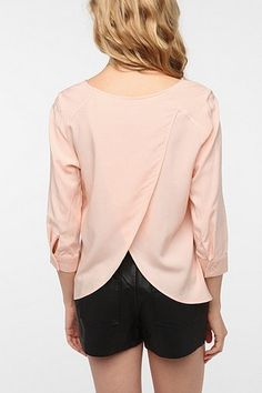 Tulip Back Blouse from Urban.     Oh my gosh tulip tops are GORgeous!