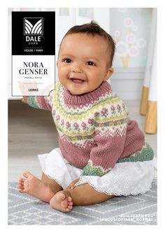 Søkeresultater for «Nora genser Fair Isle Knitting Patterns, Sweater Knitting Patterns, Knitting Yarn, Knit Patterns, Hand Knitting, Baby Barn, Baby Cardigan, Baby Costumes, Knitting For Kids