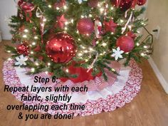 {Craftify It}: Christmas Tree Skirt